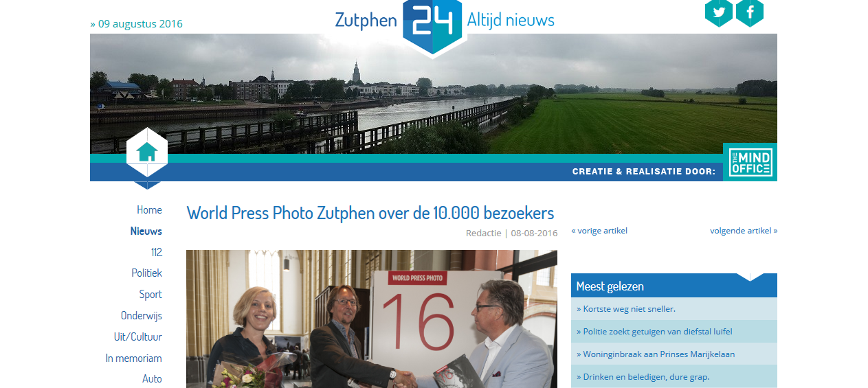 160808 Zutphen24.nl World_Press_Photo_Zutphen_over_de_10.000_bezoekers_Zutphen24_-_2016-08-09_21.50.02