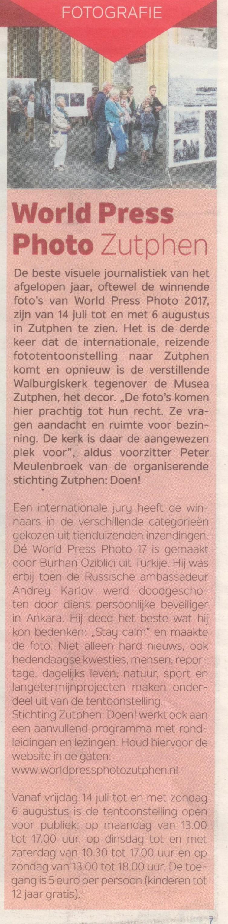 1705 Magazine Musea Zutphen